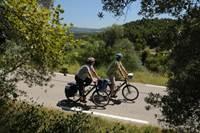 A vélo de la petite Venise aux vignobles de Châteauneuf du Pape
