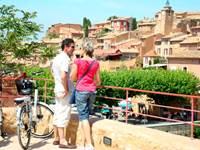 Le Luberon à pied et à vélo