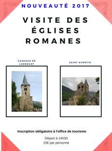Visite des églises romanes
