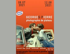 Georges Pierre - Photographe de plateau