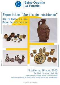 Exposition de Claire Wallois alias Dove Perspicacius