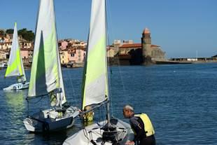 Ecole de voile, Paddle, Kayak à Collioure - Activités Collioure