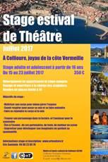 Stage de théâtre pour cet été à Collioure