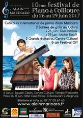 Festival de piano à Collioure