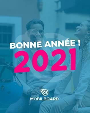 Bonne et heureuse année 2021 !