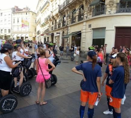Enterrement de vie de jeune fille à Montpellier