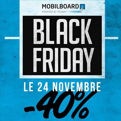 Black Friday 2017 - 40% sur nos balades en Segway !