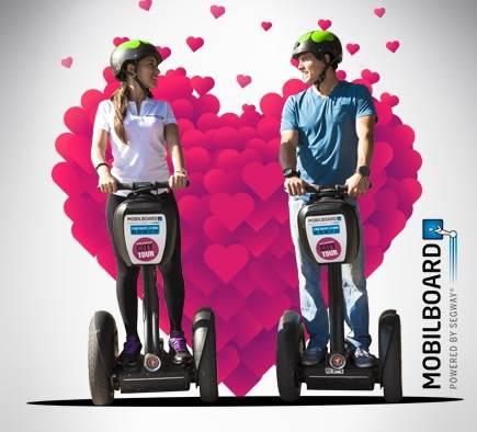 Bieten Sie eine romantische Segway-Fahrt an