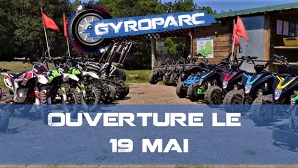 Ouverture du Gyroparc le 19 mai à 14h !
