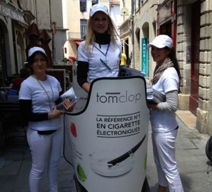 Street Marketing Tom Clop