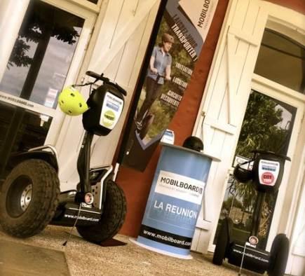 Eröffnung der Segway® Mobilboard Agency in Saint Pierre