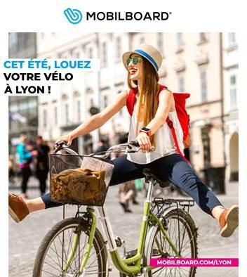 Cet été, louez un vélo à Lyon !