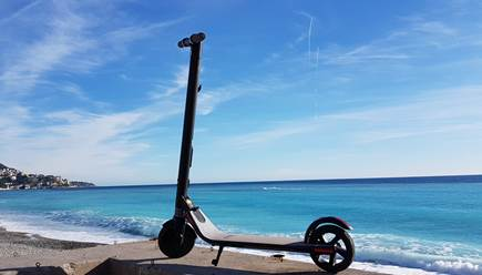 25% discount on rentals of our CAT A electric scooters! September 2020