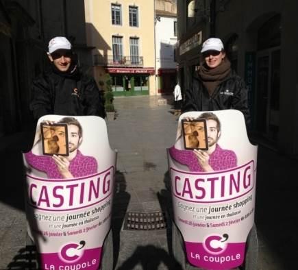 Street Marketing Casting La Coupole