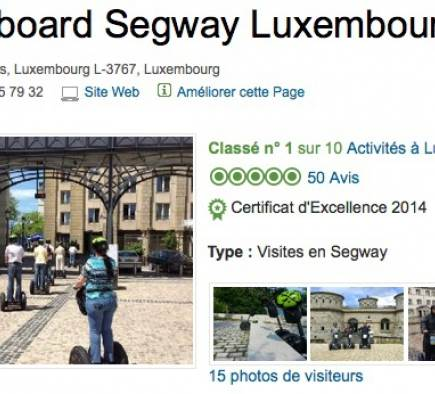 Mobilboard Luxembourg classé #1