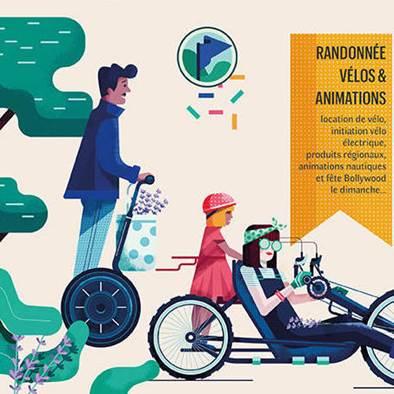 Ne manquez pas la « ViaRhôna en fête » à Valence !