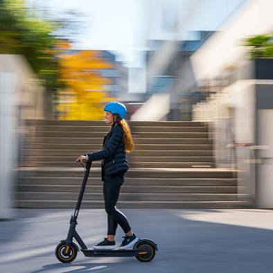 Financial assistance for the purchase of an electric scooter