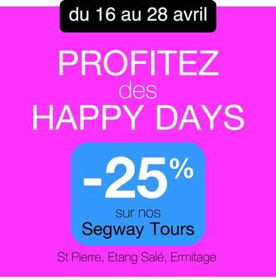Genieße die Happy Days bis zum 28. April