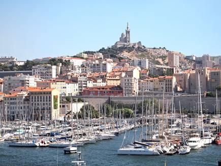 Mobilboard está instalando en el viejo puerto de Marsella!