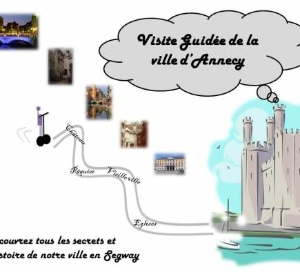 Guided tour of the city of Annecy