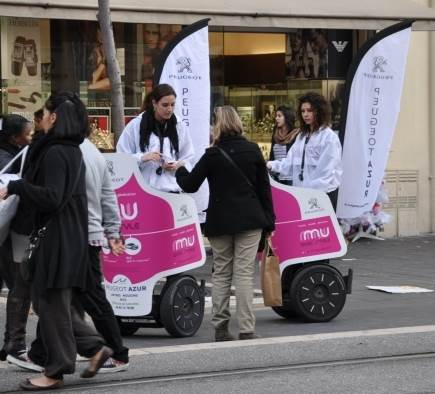 Segway communication campaign for Segways for
