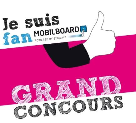 Mobilboard annonce son 1er grand jeu concours Facebook !