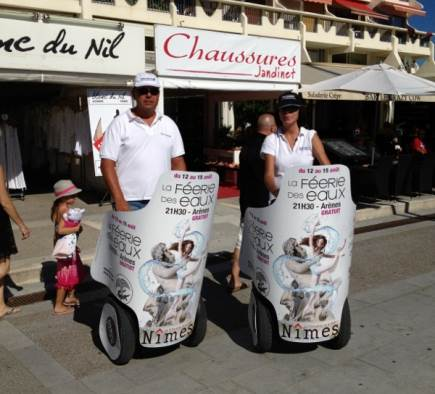 Street Marketing Féeries des eaux