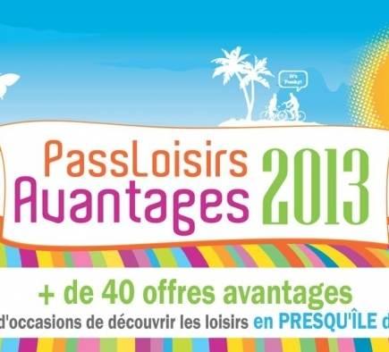 Mobilboard Vannes-Golfe du Morbihan socio del Pass Loisirs Ventajas 2013