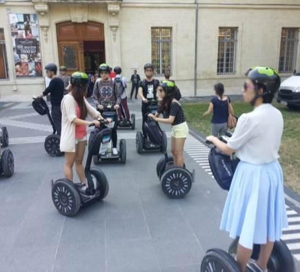 Mobilboard Montpellier im internationalen Seminar