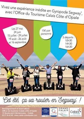 Calais en mode Segway pour la saison 2018