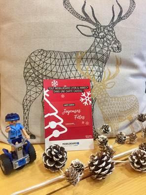 Idée cadeau pour Noël : 4 bonnes raisons d'offrir une carte cadeau Segway