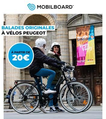 Nouveauté 2020 : les visites guidées à vélo !