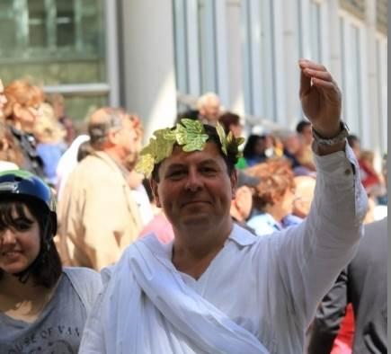 Créer le buzz lors des jeux romains