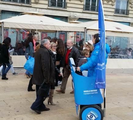 Le Rugby de Montpellier fait sa promo à Gyro