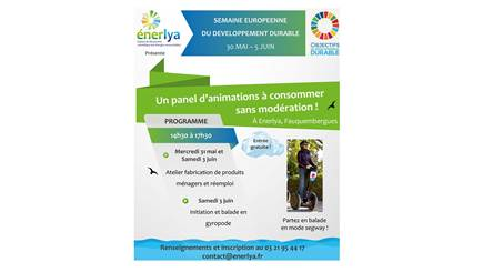 Mobilboard St-Omer participe au développement durable