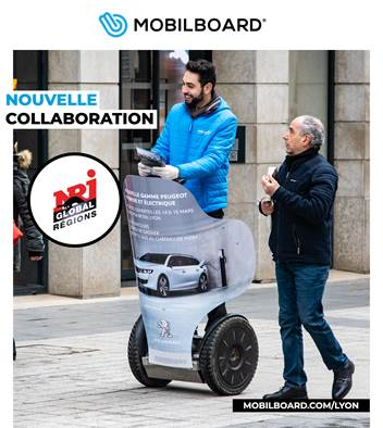 Street Marketing : Mobilboard x NRJ !