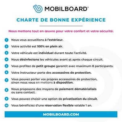 Charte de bonne expérience MOBILBOARD