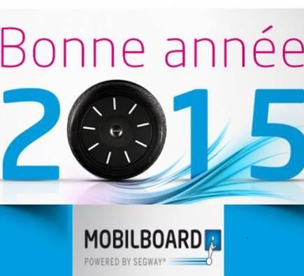 Feliz año nuevo 2015 en Segway Segway