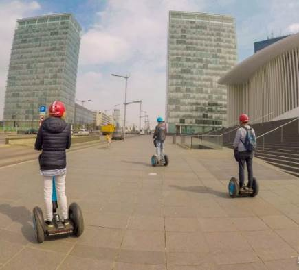 A guided tour of Luxembourg City by Segway