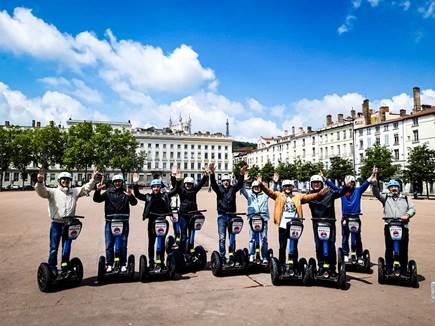 Segway à Lyon : 4 bonnes raisons de faire du gyropode