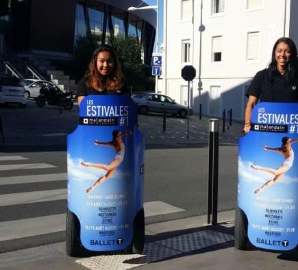 Une très belle opération de Street Marketing sous le grand soleil du Pays Basque