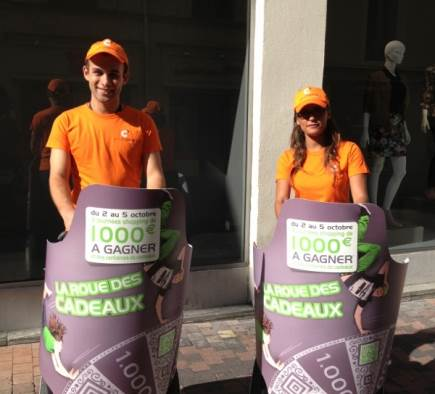 Street Marketing La Coupole