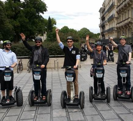Chasse au trésor à Montpellier pour les salariés d'une société de jeux vidéo