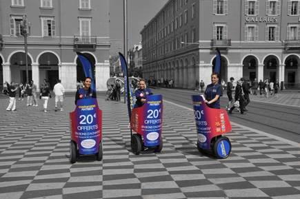 Campagne d'Affichage mobile