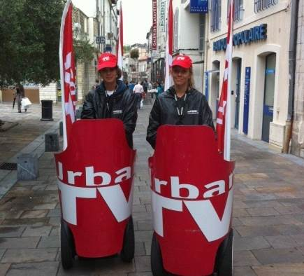 Street marketing URBAN TV