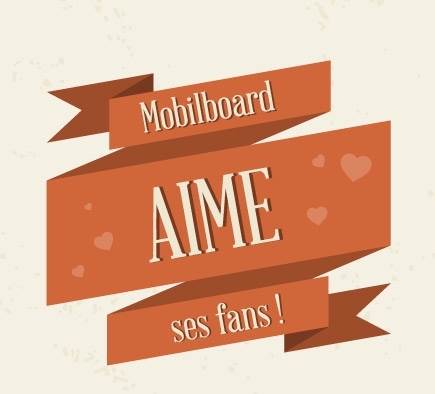Mobilboard Luxembourg aime ses fans !