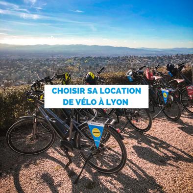 Choisir la location de vélo pour se balader à Lyon