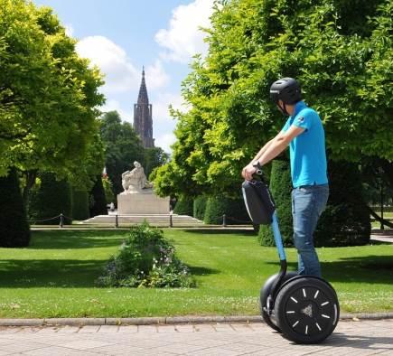 Les 5 plus beaux endroits à visiter à Strasbourg... et en Segway!