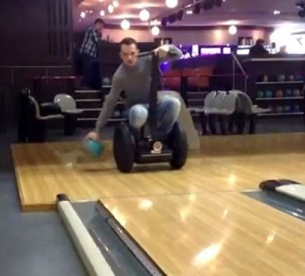 Découvrez le Segway Bowling en vidéo !