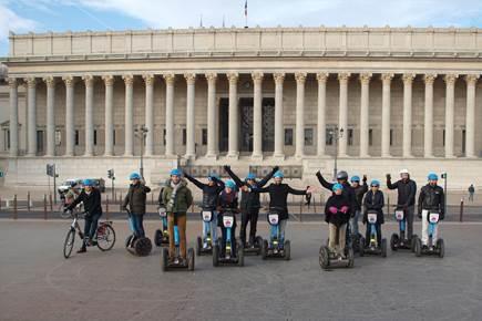 Team building à Lyon - Le combiné Segway / Vélo électrique pour cet hiver
